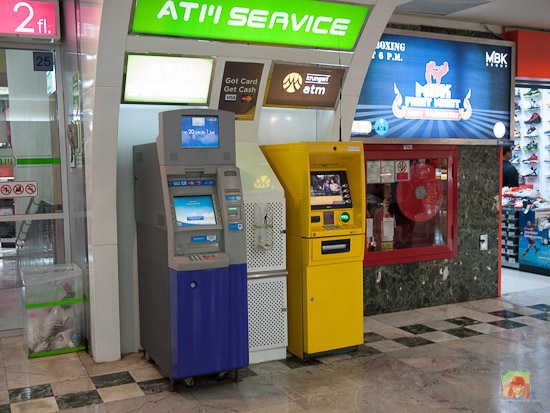 Aeon ATM located on 2nd floor zone C