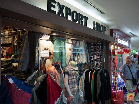 Export Shop at MBK