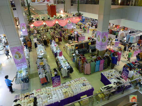 The ground floor of JJ Mall...