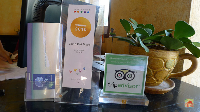 Recommended by Agoda and Tripadvisor...