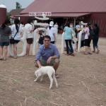 me at swiss sheep farm 2012
