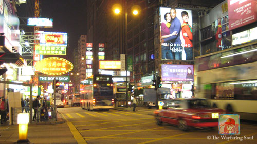 Nathan Road on Kowloon