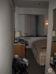 My room at Sunlite Shinjuku Hotel...