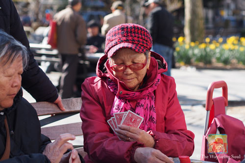 Who says old Chinese ladies only play mah jong?