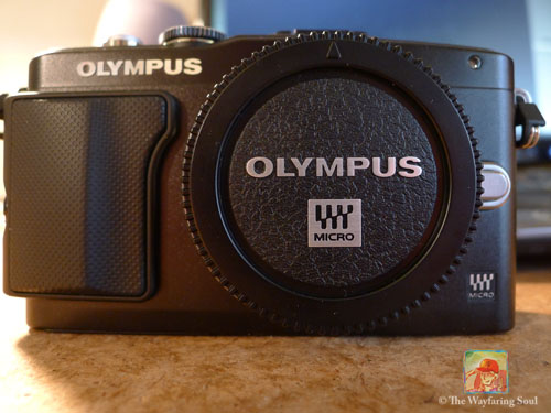 The Olympus EPL5 - My brand new baby...