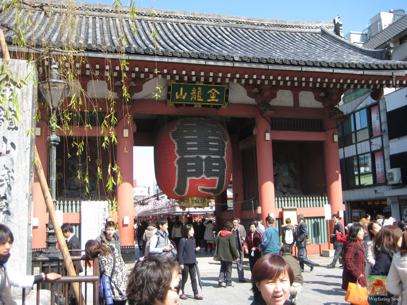 Kaminarimon Gate at Asakusa