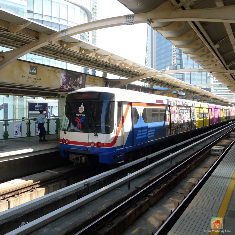 The Sky Train, still the best way to get around most parts of central Bangkok...