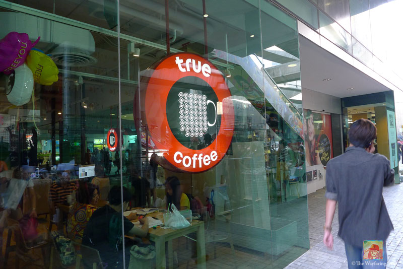 When I hang out in the Siam Square area I usually do so at the True Coffee shop branch...