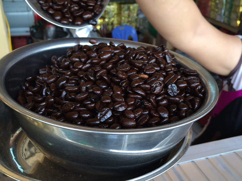 Buying Coffee Beans in Ho Chi Minh City