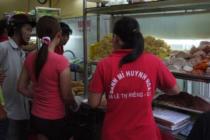 An awesome Vietnamese sandwich shop...