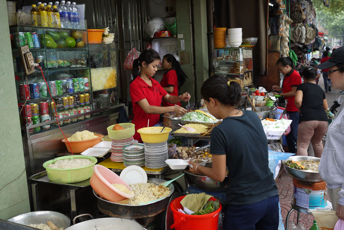 There's no shortage of good food found on HCMC...