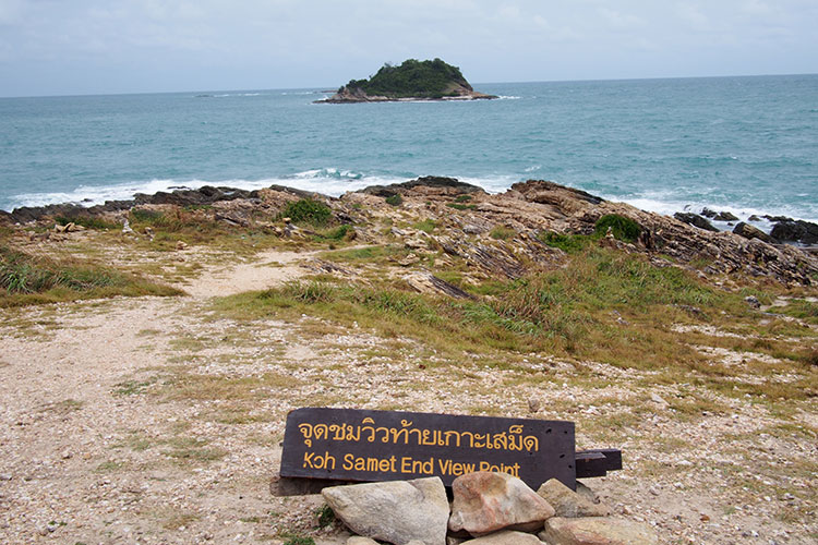 The southern most tip of Koh Samet...