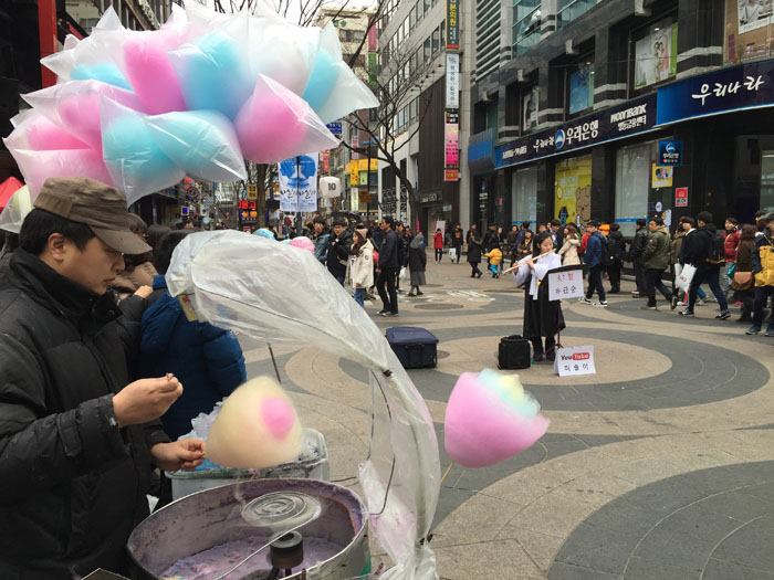Visiting Myeongdong in Seoul