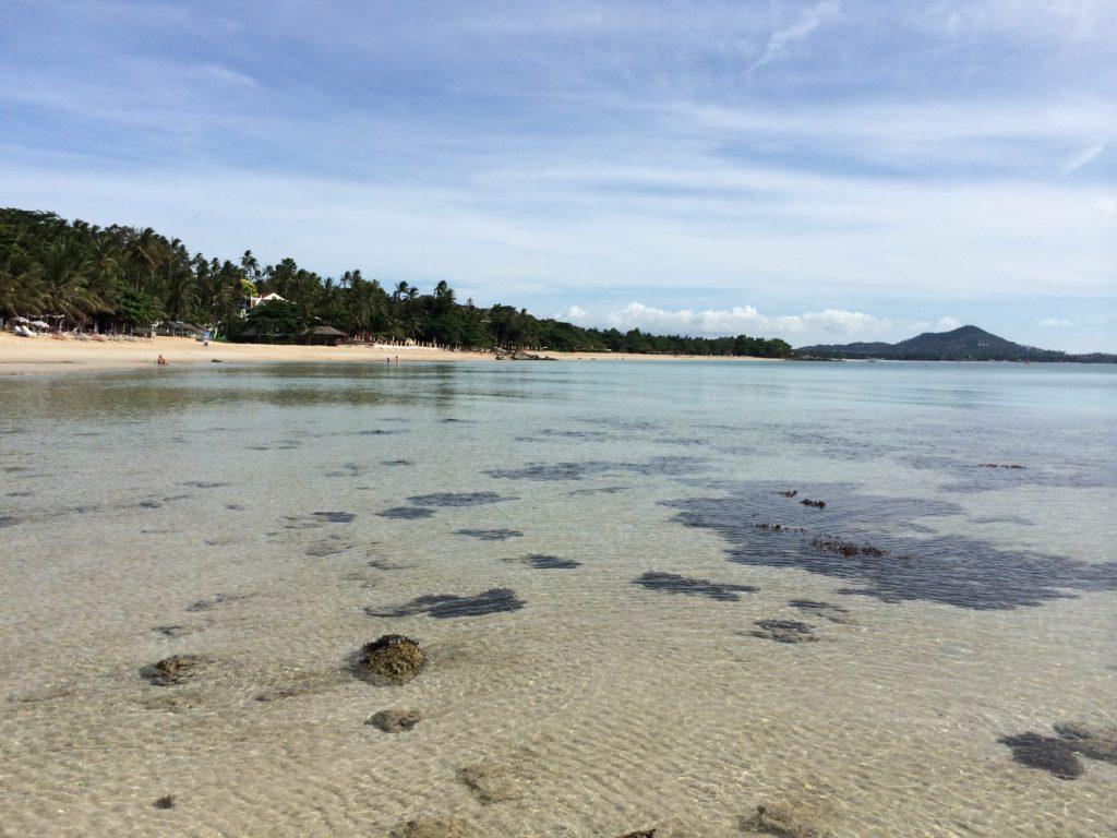 Beautiful beach at Koh Samui