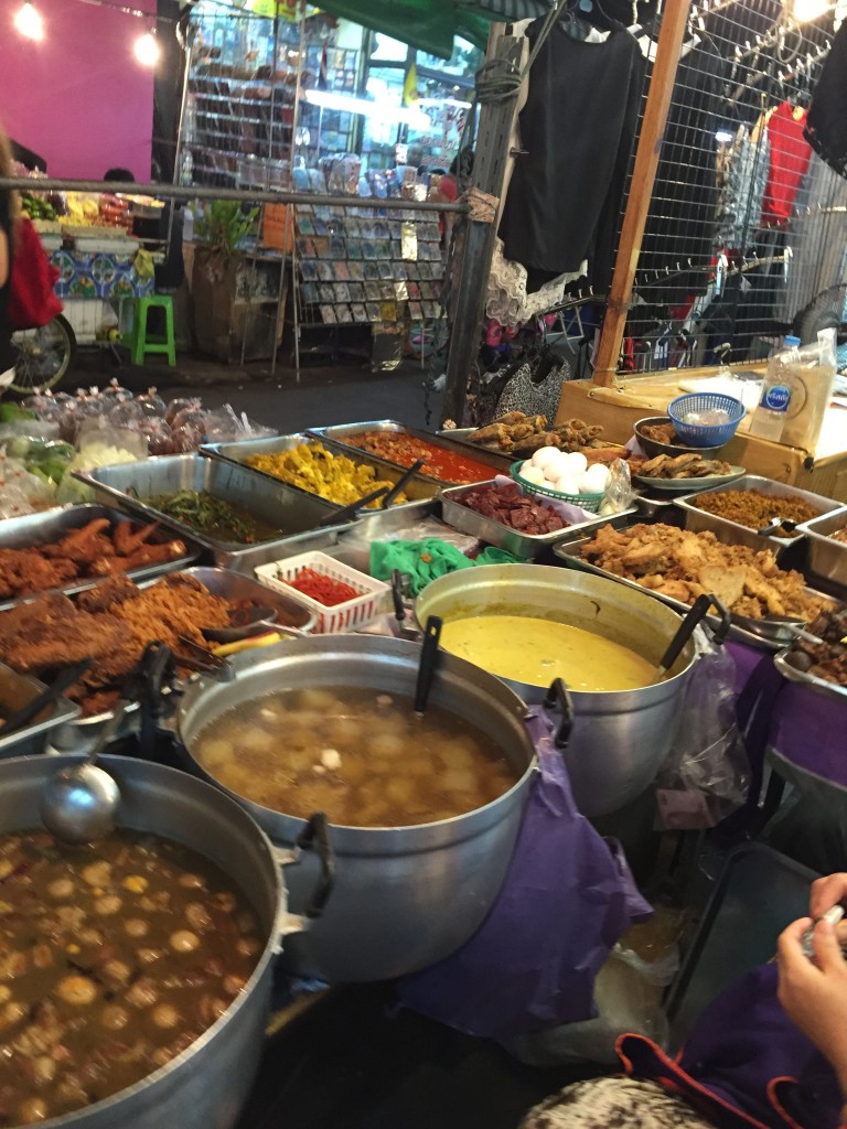 You won't run out of food options on the streets of Bangkok...