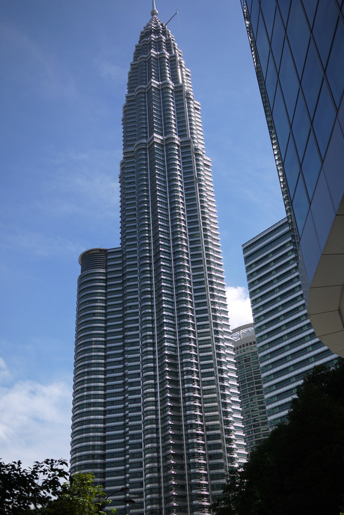 KL's magnificent Petronas Towers...
