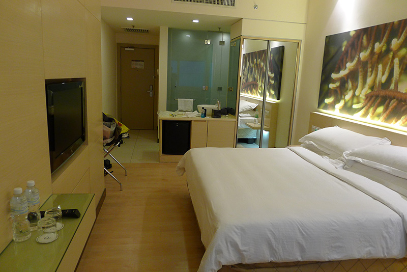Last time I went a superior room at Piccolo cost about $65USD per night with taxes included...