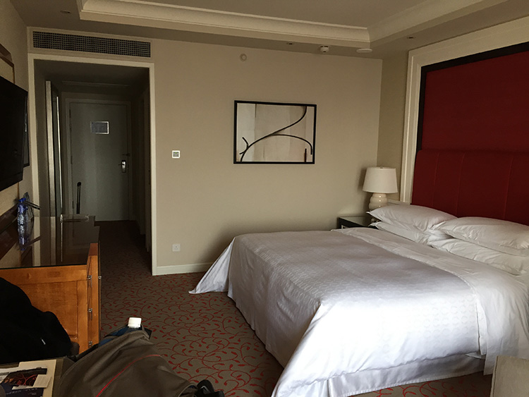 We booked a deluxe room which are 42 square meters big...
