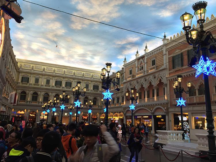 The Venetian at Central Cotai...