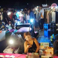 Talad Liab Duan Night Market Bangkok