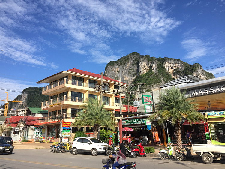 Ao Nang Town - You can get there via Amari Vogue's shuttle service. But it'll cost each passenger 100THB one way.
