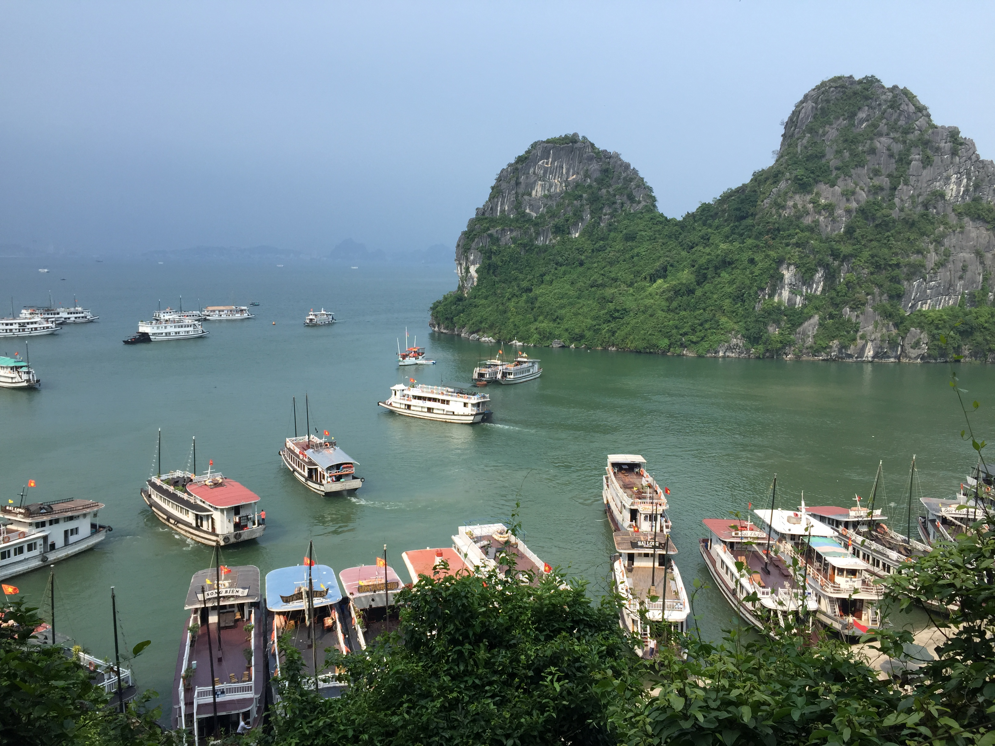 Trip To Halong Bay Vietnam
