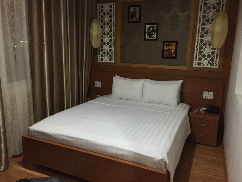 A King Sized bed en Suite...