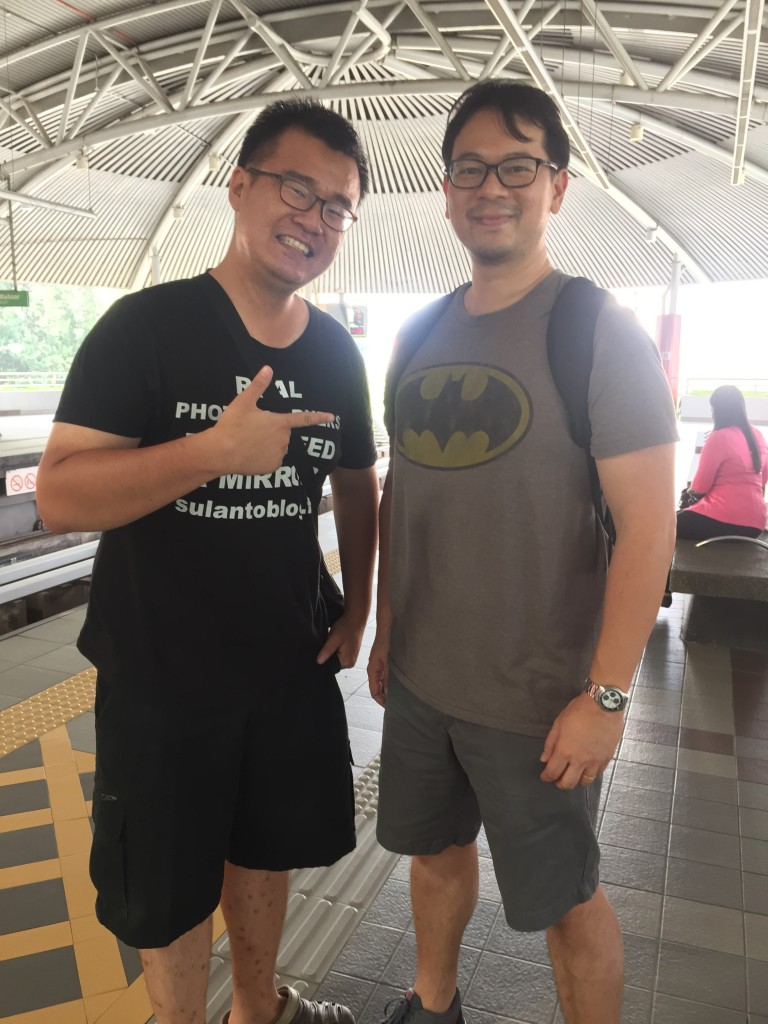 Robin Wong, one of the coolest guys I've ever met...