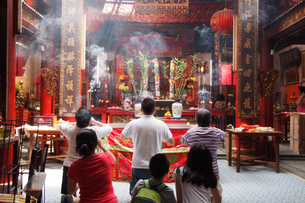 I remember going to temples such as this back in NYC with my mom...