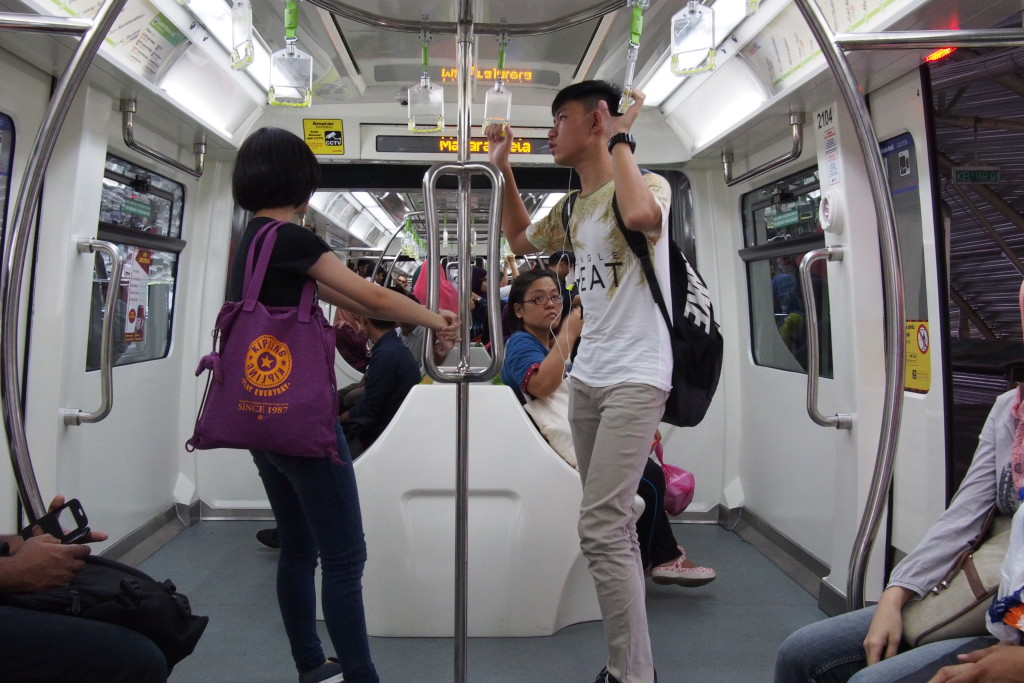 The KL monorail is not an extensive line, however there are many train lines in the city...