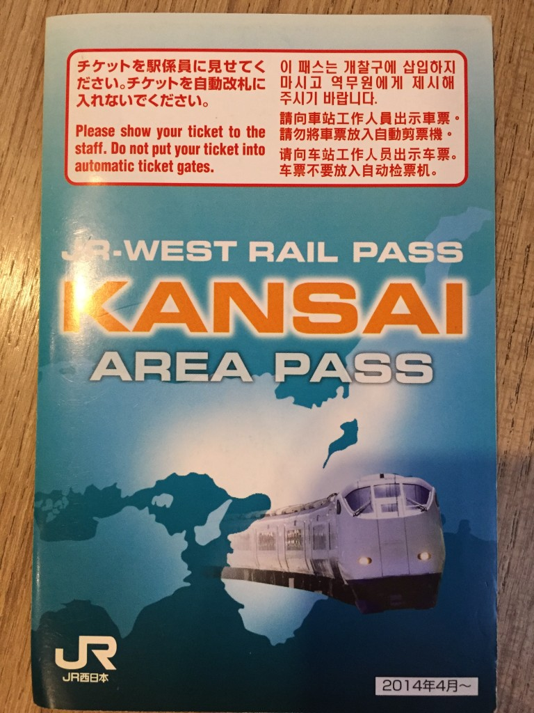 This cool little booklet contains your pass...
