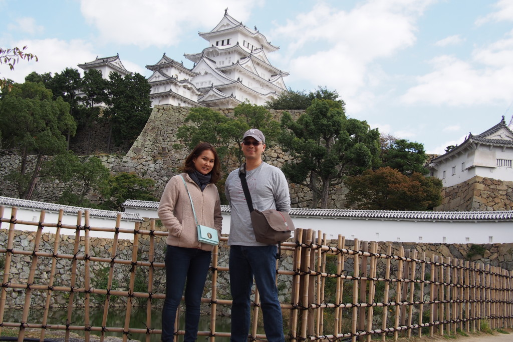 HImeji Castle is also called the White Heron Castle...