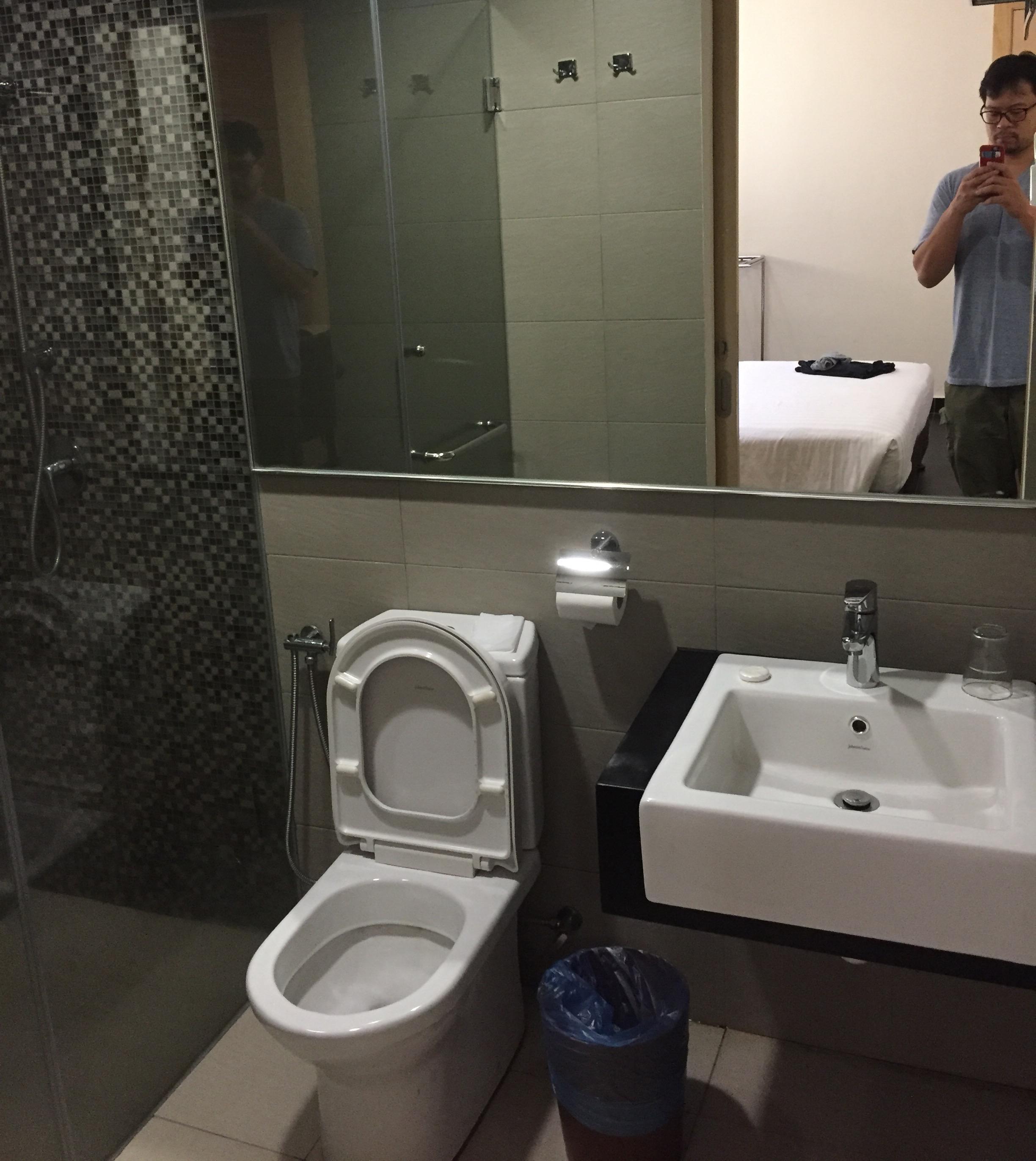 A nice decent bathroom...