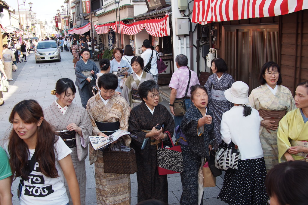 The Confectionery Row (菓子屋横丁 ) is where you'll find the Bell Tower...