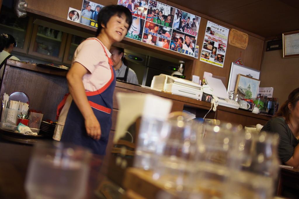 Noodle restaurant in Kawagoe