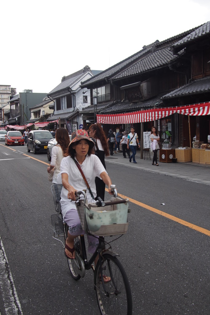 Main street in Kawagoe...