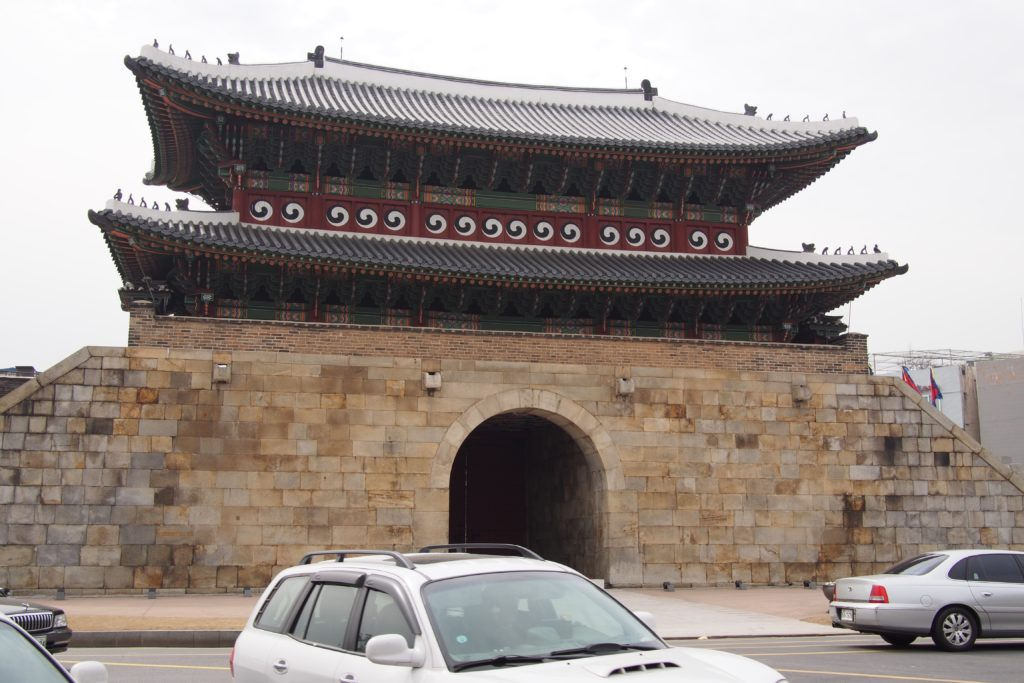 Paldamun Gate is located on the southern end of Hwaseong Fortress...