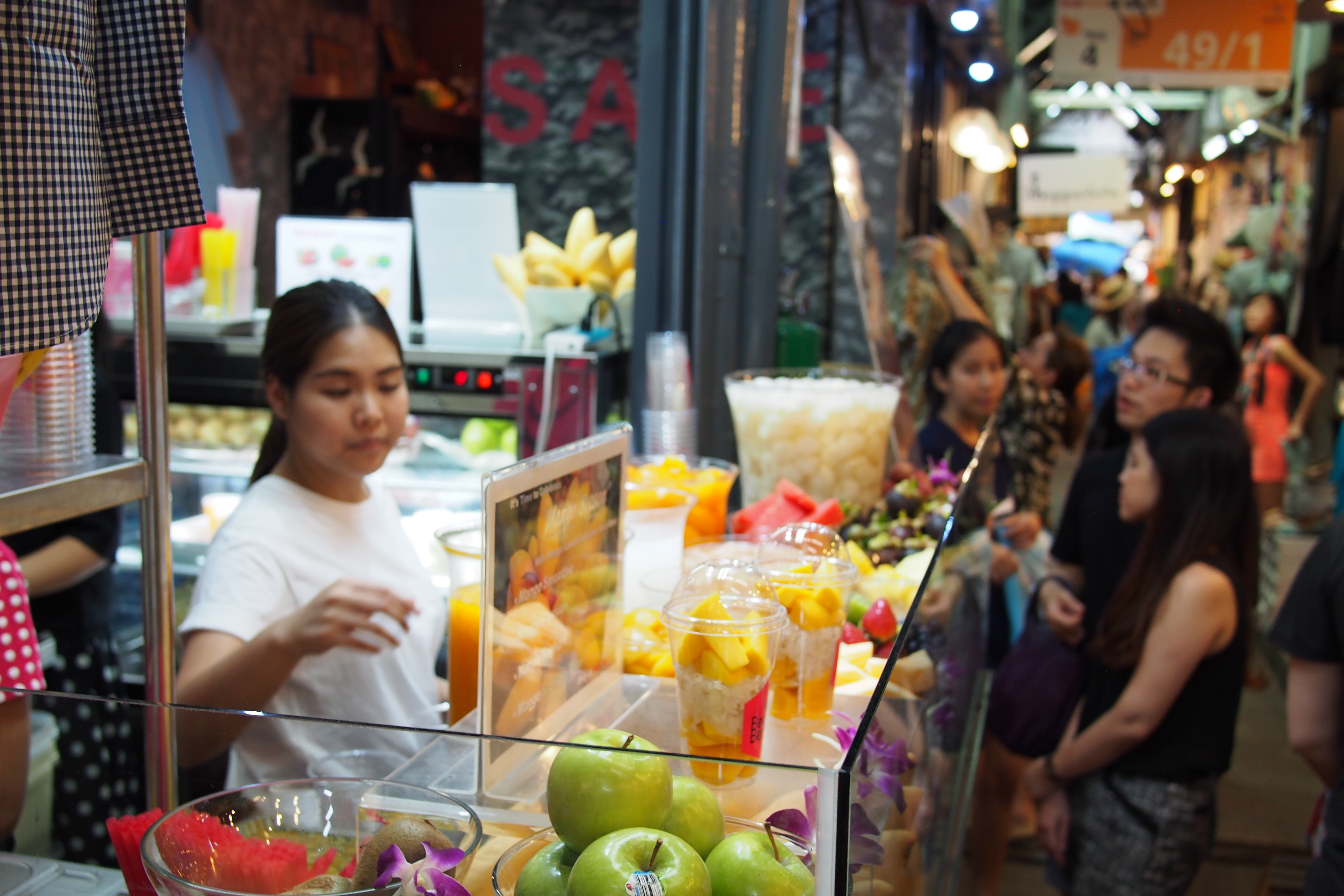 Fruit drink stand zone 2 JJ Market