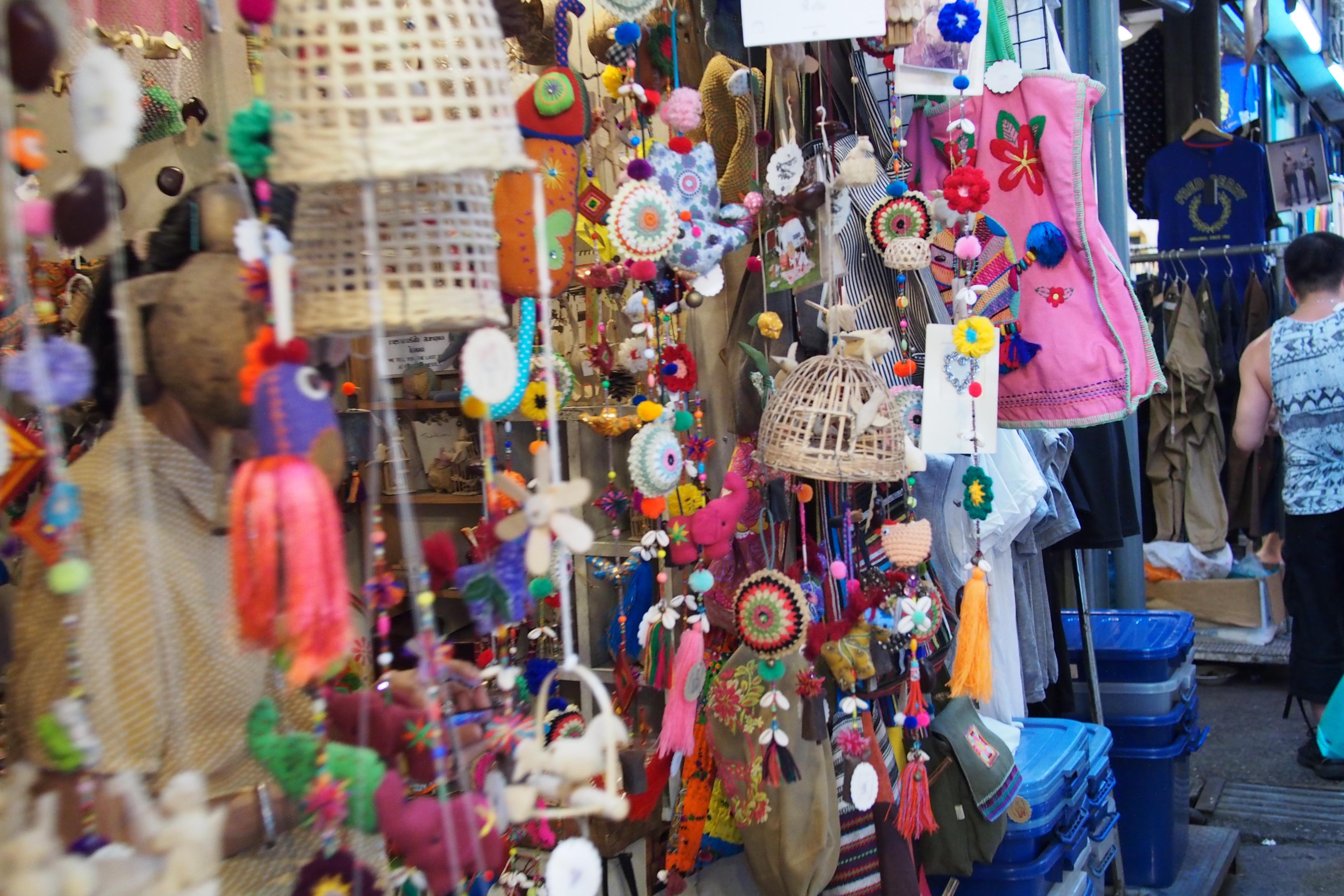 Shops at Chatuchake Market