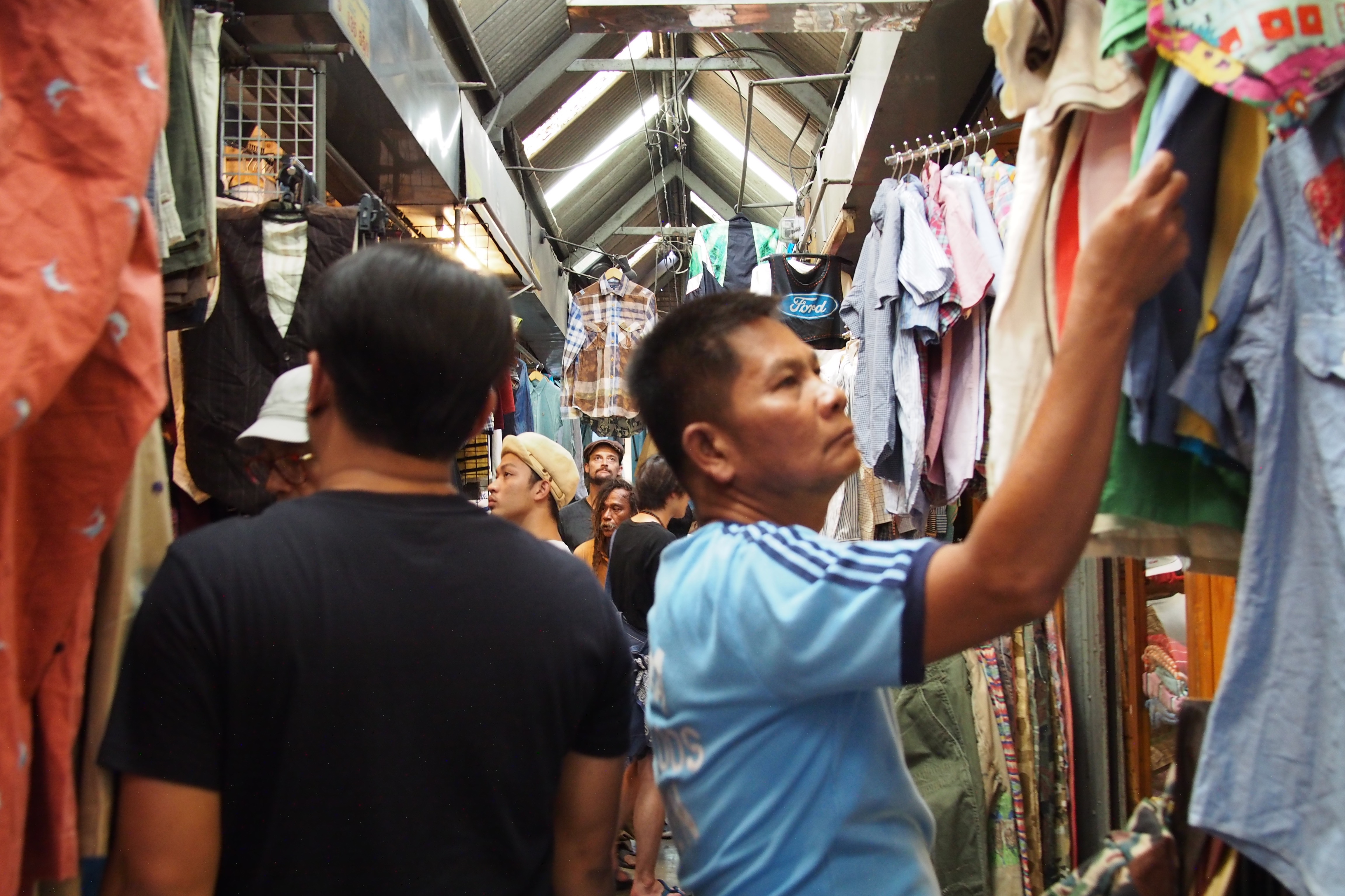 Shopping in Chatuchak zone 5 and 6