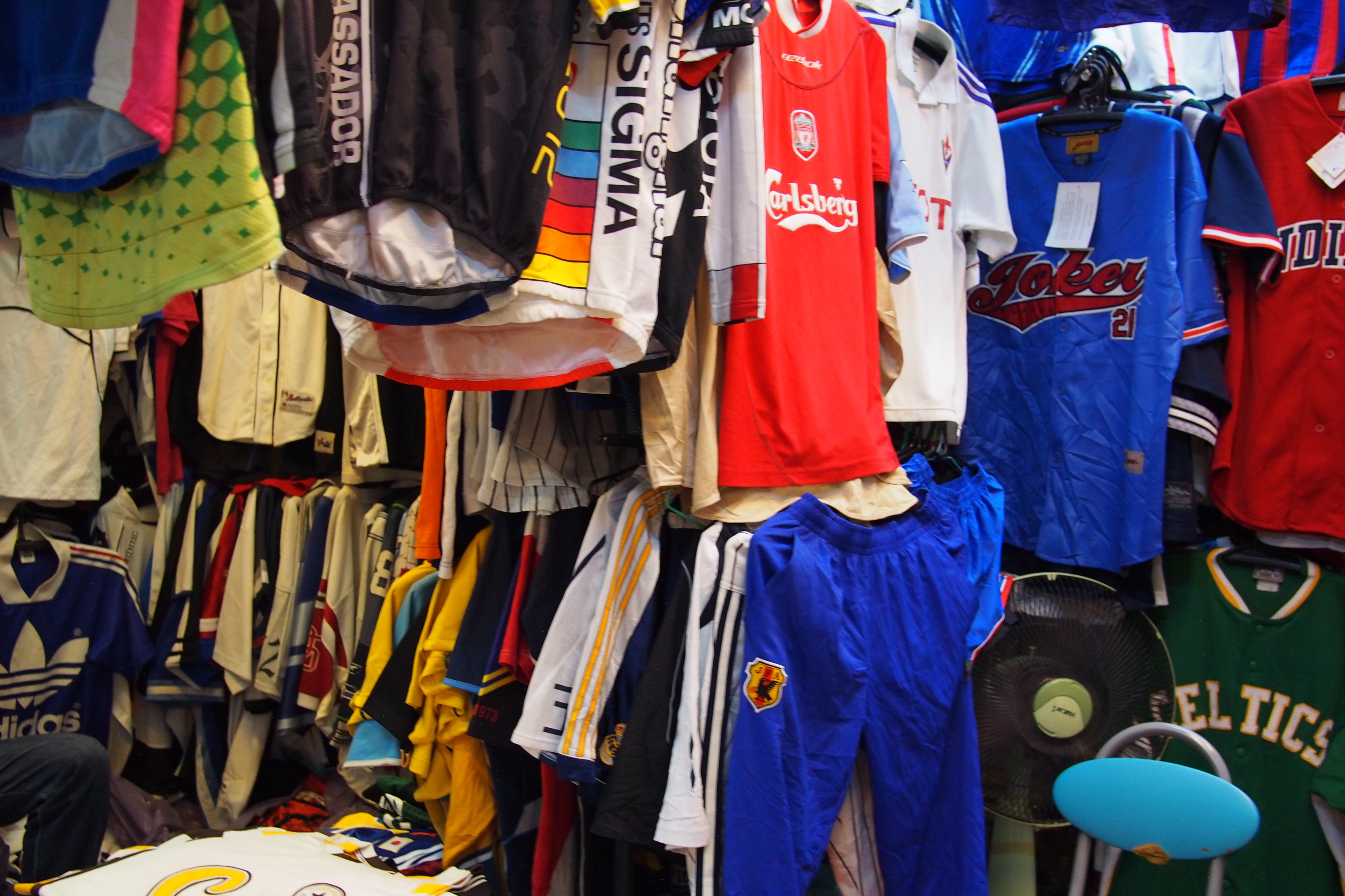 Used sports clothing in Chatuchak