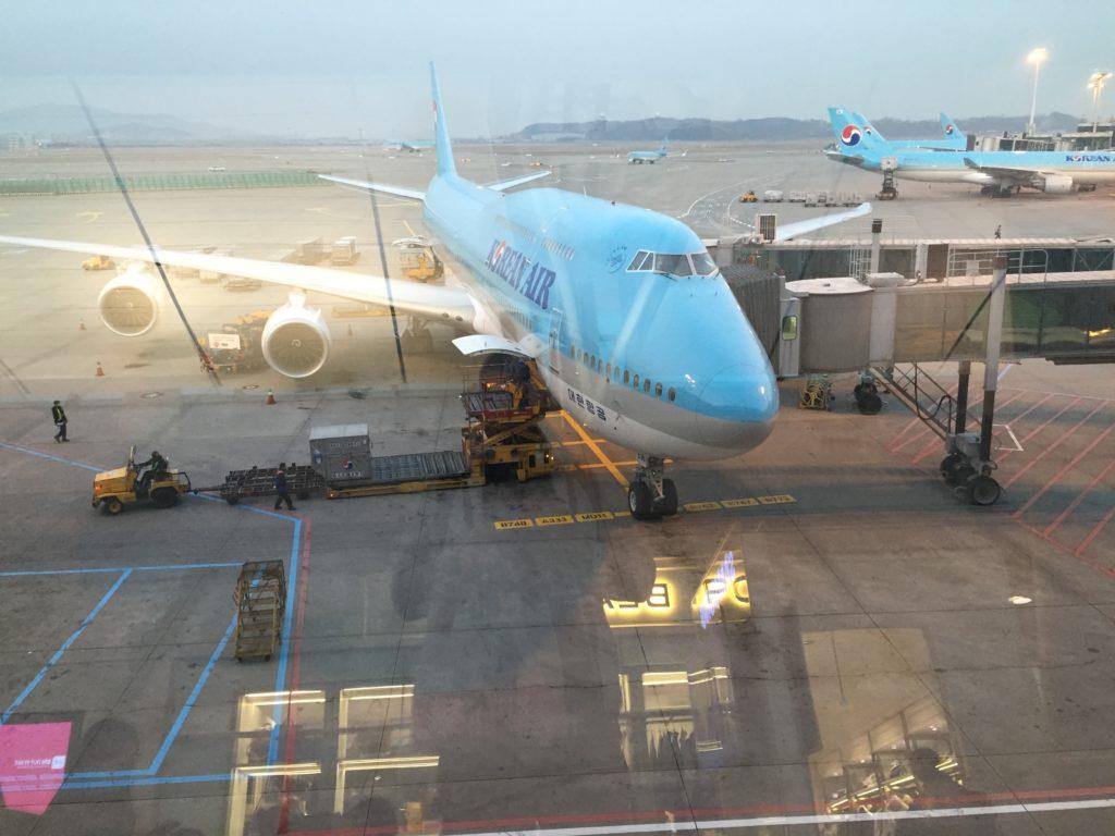 Korean Air 380 at Incheon Airport