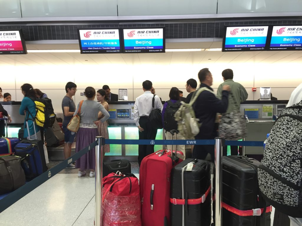 EWK International Air China Check In