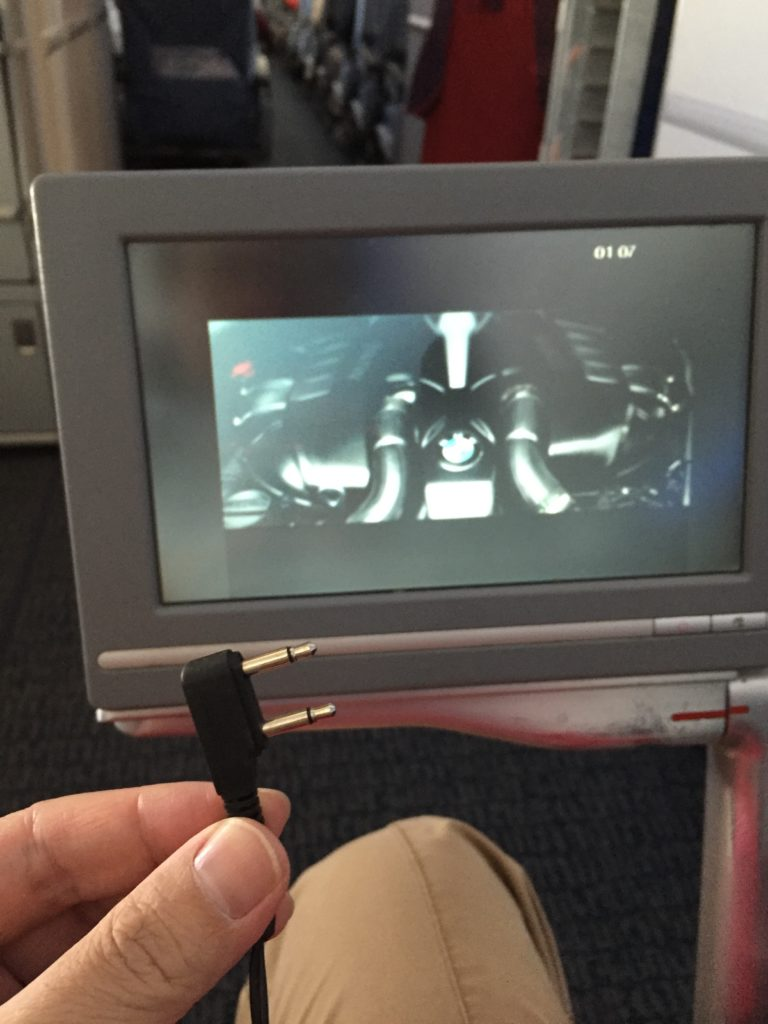 Air China 777-300ER In Flight Video