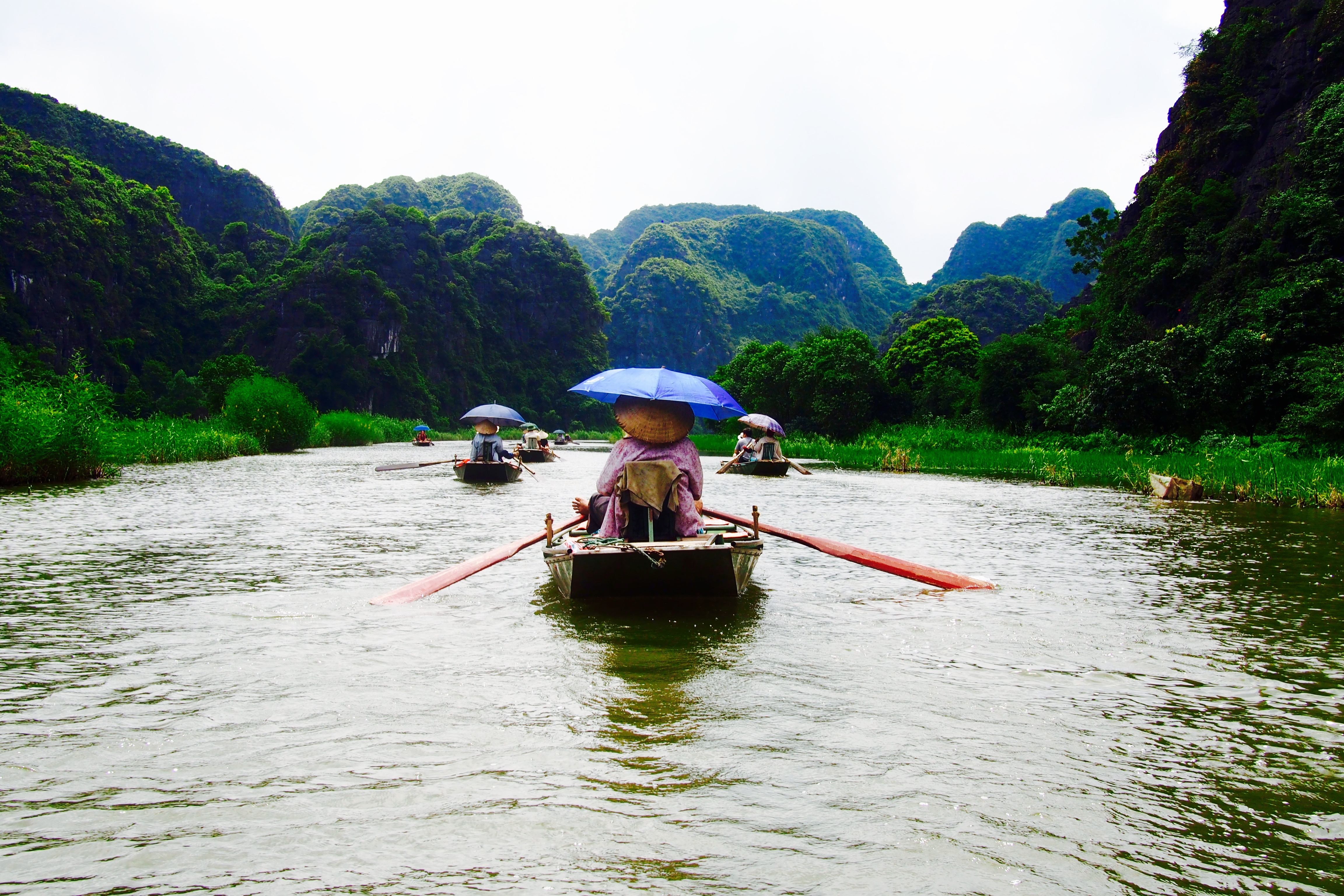 Day Trip at Tam Coc, Vietnam
