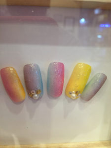 Nail Art at Glamour Girls Bangkok