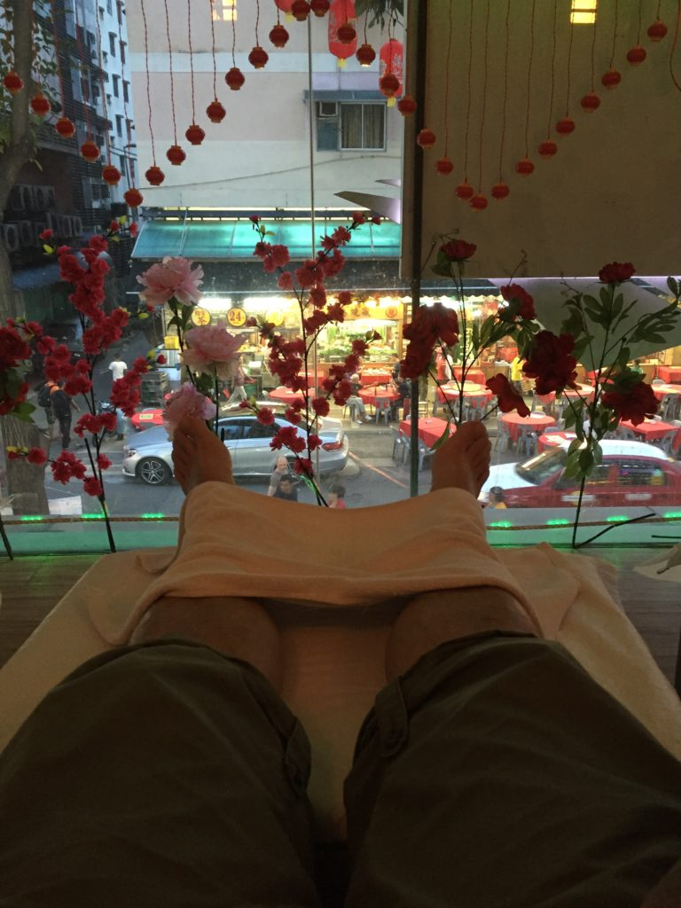 Massage parlor in Bukit Bintang, KL