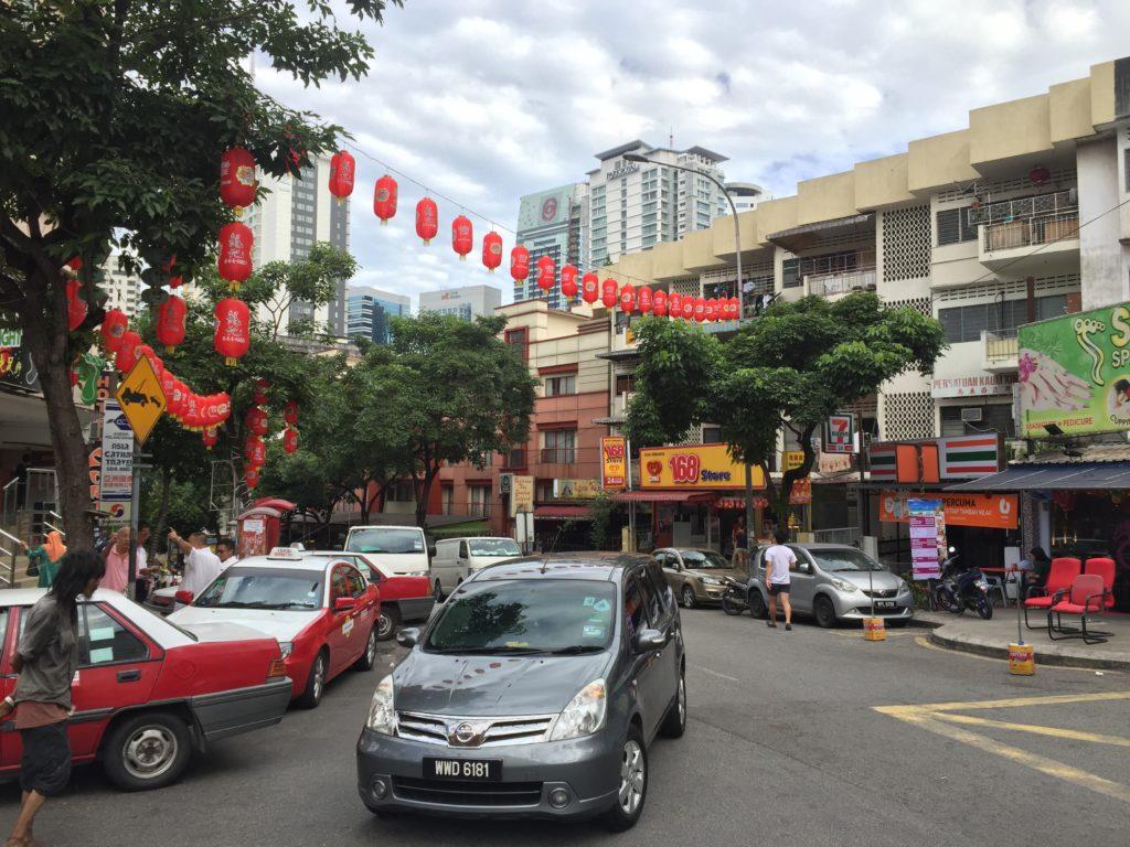 Jalan Alor in Bukit Bintang Malaysia