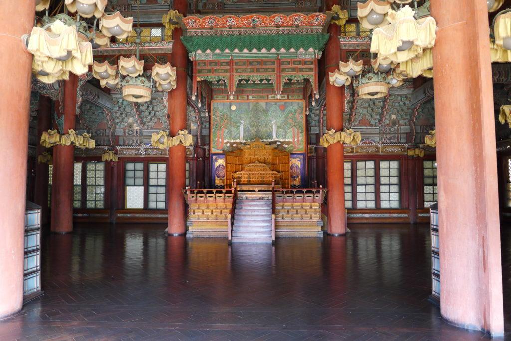 Gyeongbokgung Palace Throne Room