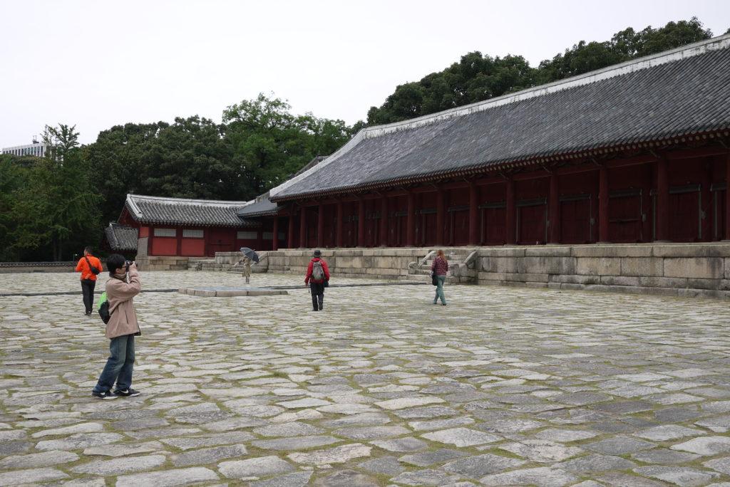 Jongymo Shrine Seoul South Korea